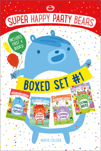 Super Happy Party Bears Boxed Set #1