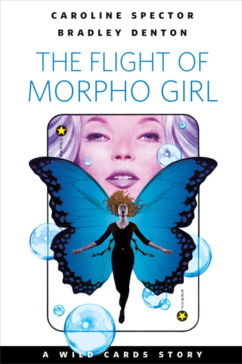 The Flight of Morpho Girl