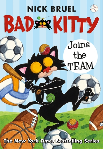 Bad Kitty Joins the Team