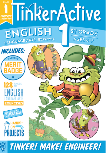 TinkerActive Workbooks: 1st Grade English Language Arts