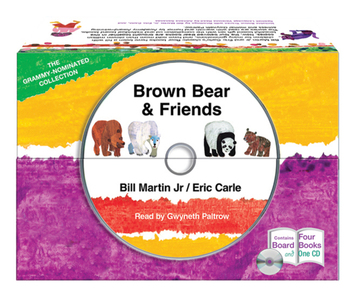Brown Bear and Friends board book and CD set