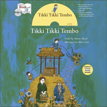 Tikki Tikki Tembo book and CD Storytime Set