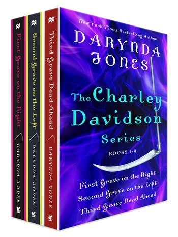 The Charley Davidson Series, Books 1-3