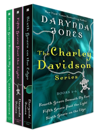 The Charley Davidson Series, Books 4-6