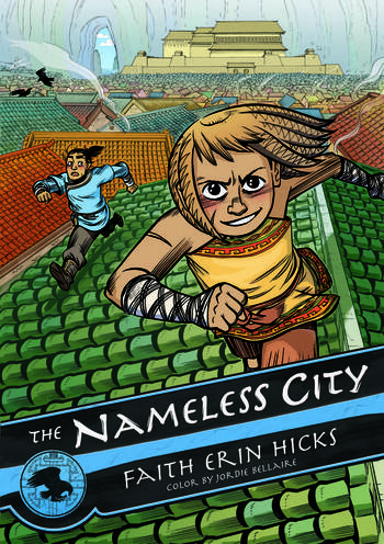 Nameless City, Faith Erin Hicks, Cover