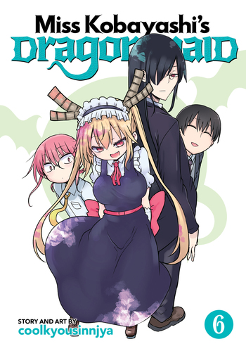 Miss Kobayashi's Dragon Maid Vol. 6
