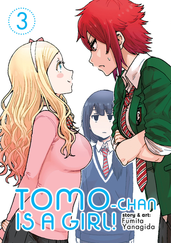 Tomo-chan is a Girl! Vol. 3